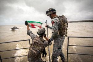فیلم/ حماسه تکاوران نیروی دریایی ارتش