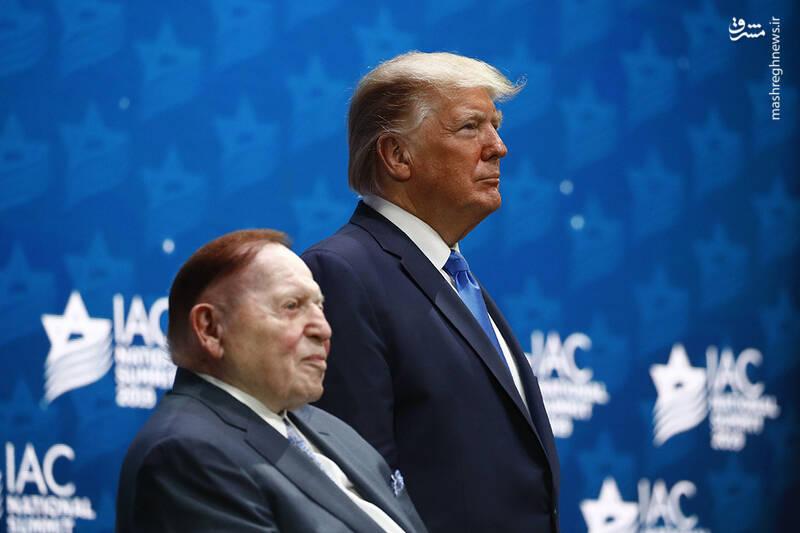 کمک جدید انتخاباتی شلدون آدلسون به دونالد ترامپ/ قمارباز یهودی بازهم پای کار ترامپ آمد