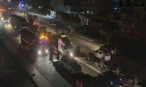 حمله به کاروان لجستیکی آمریکا در صلاح الدین عراق