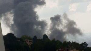 عکس/ وقوع انفجار در جنوب لبنان