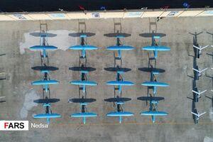 عکس/ رونمایی از ۳ پهپاد جدید سپاه پاسداران
