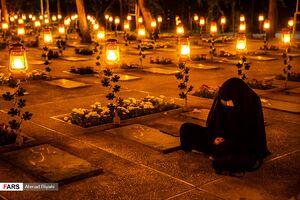 عکس/ ویژه برنامه شب های پرستاره در بهشت زهرا(س)