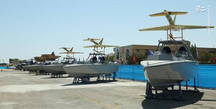 پهپاد های ابابیل 2 نصب شده بر روی قایق های تندرو
