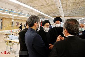 فیلم/ بازدید رئیس قوه قضائیه از کارخانه نیمه تعطیل نساجی اردبیل