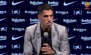 سوارس: از بارسلونا جدا می شوم و سرم را بالا می گیرم