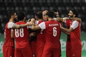 گزارش AFC از برد پرسپولیس مقابل الشارجه امارات