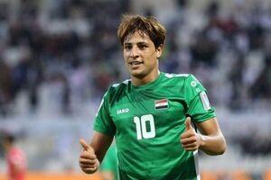 مهاجم تیم ملی عراق به کرونا مبتلا شد