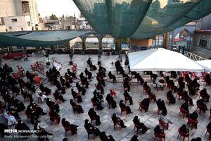 عکس/عزاداری شهادت امام حسن(ع) در امامزاده صالح(ع)