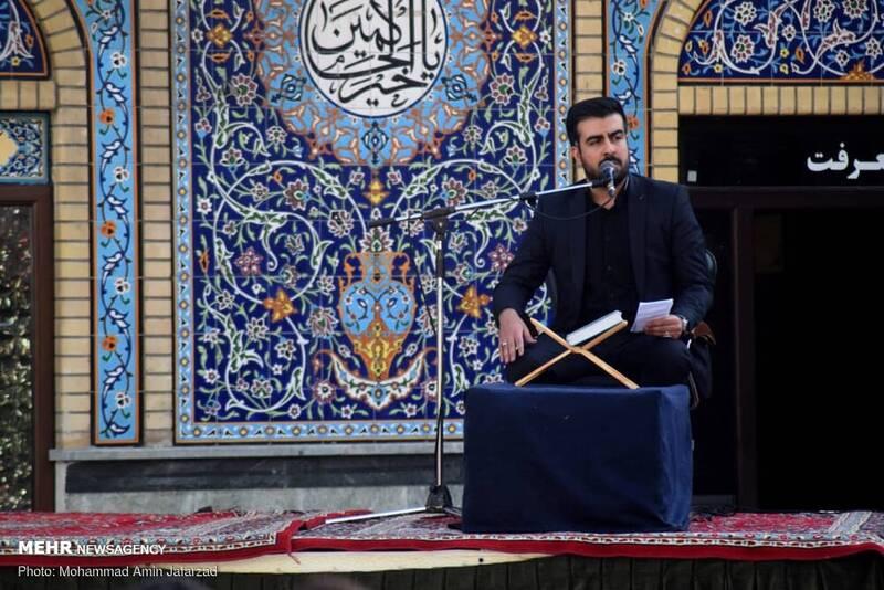 عزاداری شهادت امام حسن (ع) در آستان امامزاده صالح (ع)