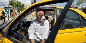 چالش جدید رانندگان تاکسی با مسافران بدون ماسک