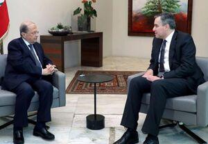 رئیس جمهور لبنان با کنارهگیری «مصطفی ادیب» موافقت کرد