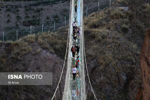 عکس/ نخستین پل معلق تمام شیشهای جهان