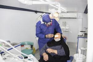 عکس/ اعزام کاروان خدمت پزشکی با حضور پزشکان جهادگر