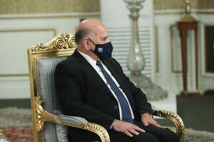 فؤاد حسین در دیدار با ظریف: تهدیدی از خاک عراق متوجه همسایگان نمیشود
