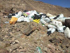 عکس/ دپوی زباله در دماوند