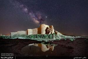عکس/ کهکشان راه شیری بر فراز شهر تاریخی بلقیس