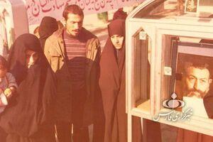 دیدار صمیمانه با همسر سردار رحیم صفوی درباره چهره زنانه جنگ