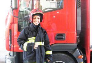استخدام آتشنشان خانم