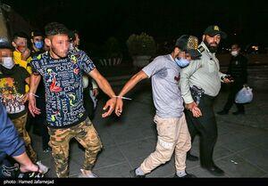عکس/ بازداشت اراذل و اوباش پارک دانشجو