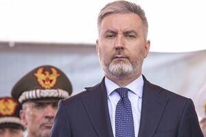 وزیر دفاع ایتالیا وارد اربیل شد - کراپشده