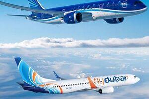 لغو پرواز خطوط هوایی اوکراین، روسیه وفلای دبی به ارمنستان و آذربایجان - کراپشده