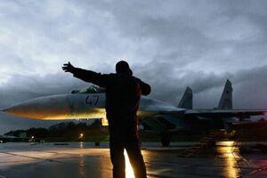 «سوخو- 27» روسیه 2 هواپیمای جاسوسی آمریکا و آلمان را رهگیری کرد - کراپشده