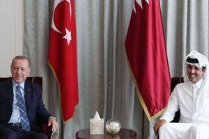 اردوغان و امیر قطر درباره روابط راهبردی دوجانبه گفتوگو کردند - کراپشده