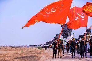 عکس/ سنگ تمام عراقی در اربعین امسال