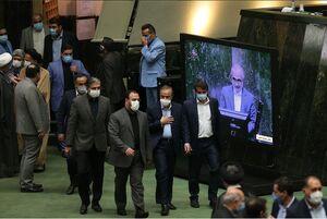 عکس/ همراهان رزم حسینی در مجلس