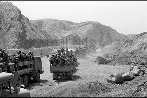 تصاویری از عملیات والفجر ۱ در سال ۶۲