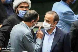 عکس/ رای اعتماد مجلس به وزیر صمت