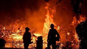 تاثیر آتشسوزیهای کالیفرنیا بر انتخابات آمریکا
