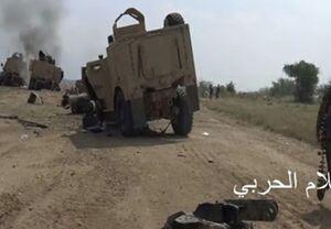 حمله گسترده ائتلاف سعودی به الحدیده در غرب یمن