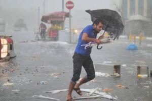 فیلم/ بارش تگرگ در استانبول