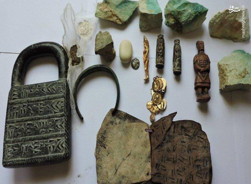 فیلم/ کشف ۲۷۸ قطعه تاریخی از قاچاقچیان در کرمانشاه