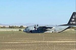 عکس/ برخورد دو هواپیمای نظامی آمریکا در کالیفرنیا