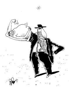 کاریکاتور/ زور بازوی صهیونیستها با شیوخ اتحادیه عرب!
