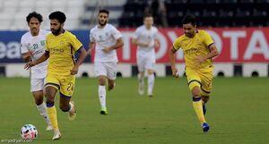 هافبک النصر بازی با پرسپولیس را از دست داد