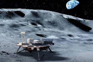 ژاپن از یخ ماه سوخت هیدروژنی میسازد