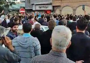 تجمعات محدود در تبریز، اردبیل و زنجان در حمایت از مسلمانان قرهباغ +فیلم