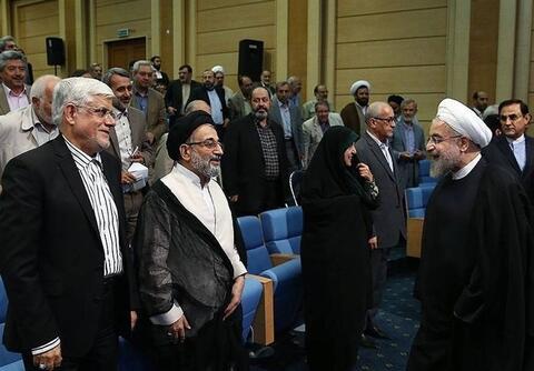 فیلم/ اصلاح طلبان شریک روحانی