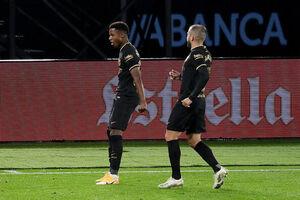 دومین پیروزی پیاپی بارسلونای 10 نفره در لالیگا