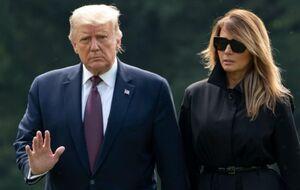 ترامپ و همسرش به قرنطینه رفتند