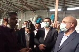 فیلم/ گفتگوی رئیس مجلس با شالیکاران