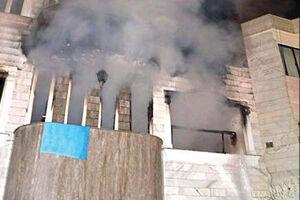 مرگ کودک در شعلههای سیاه