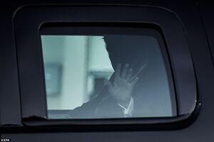 اولین تصاویر از انتقال ترامپ