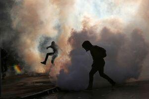 عکس/ تظاهرات گسترده ضد دولتی در شیلی