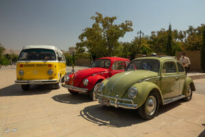رالی تور شهری خودروهای قدیمی - شیراز
