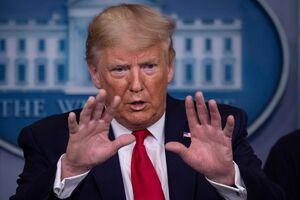 فیلم/ واکنش ترامپ به موج جدید کرونا: دروغ میگویند!