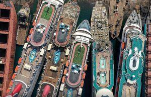 عکس/ وضعیت کشتیهای تفریحی در ترکیه